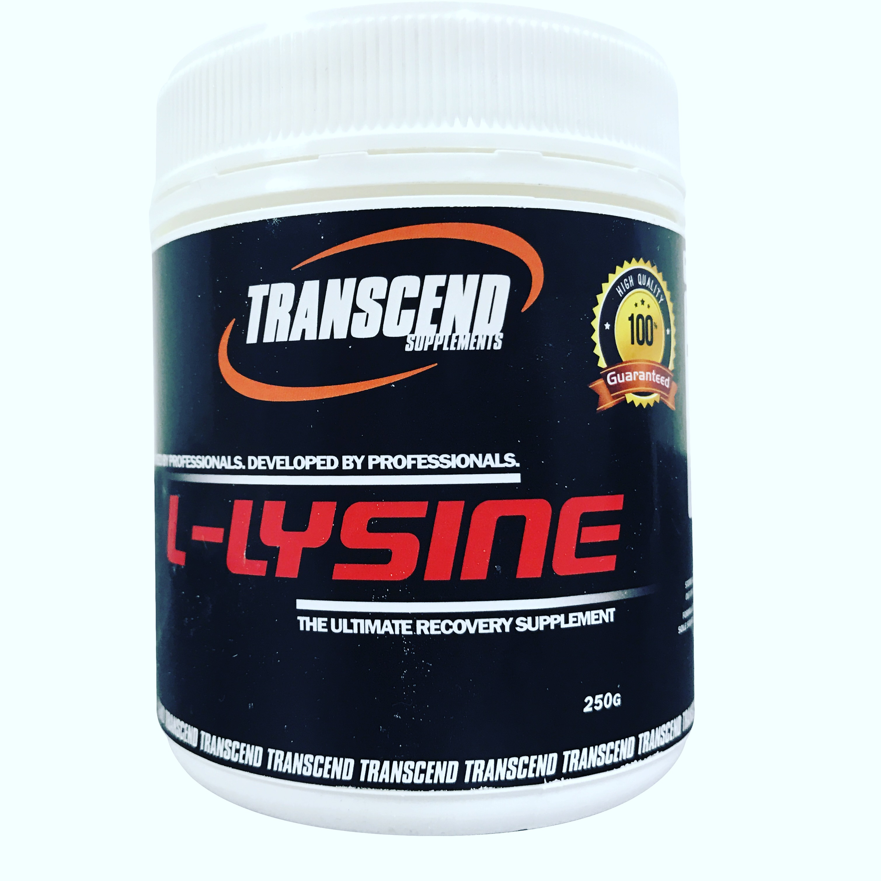 Transcend Supplements L-Lysine 250g