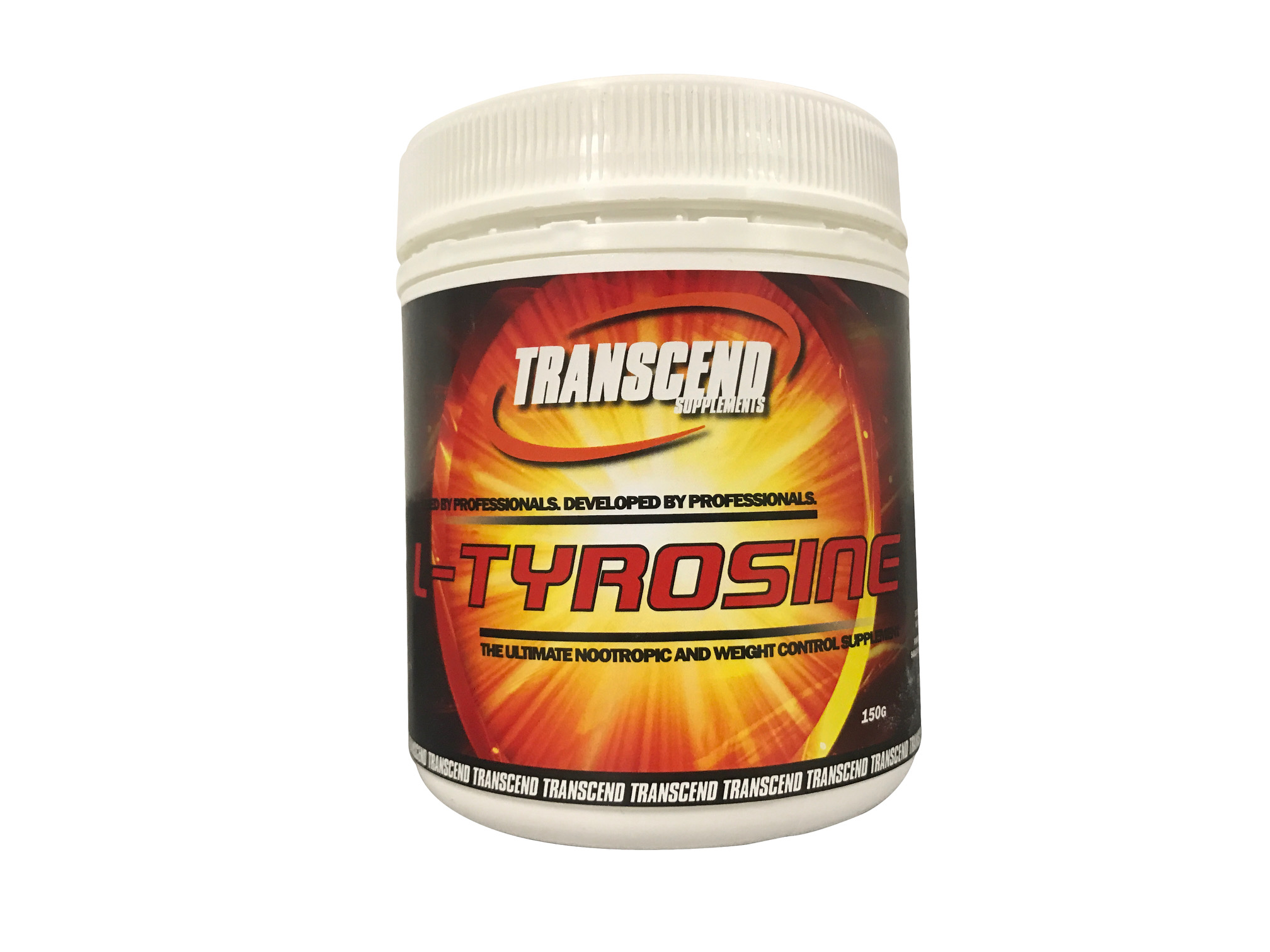 Transcend Supplements L-Tyrosine 150g