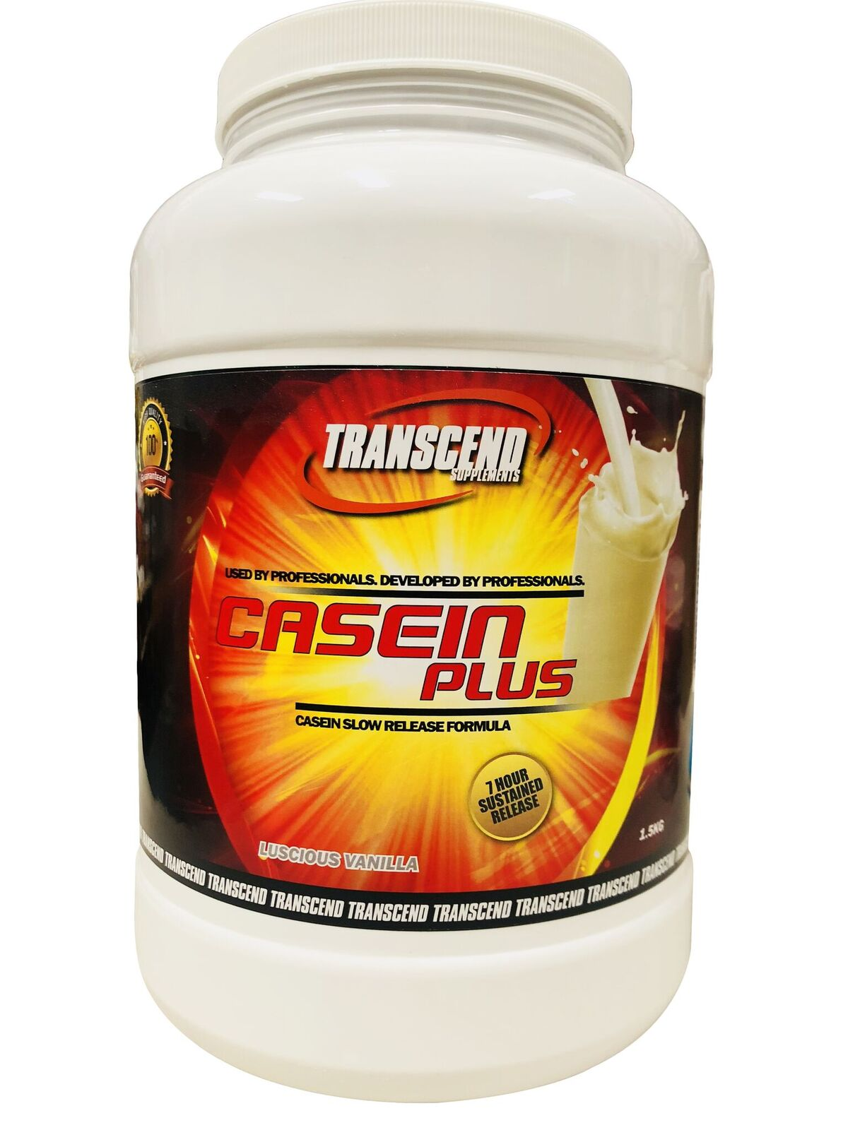 Transcend Supplements Transform With Whey Protein Isolate 90 Wpi 500gr Casein Plus